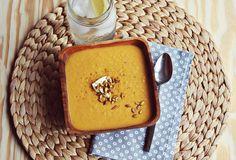 Curried Pumpkin Soup Recipe by A Beautiful Mess