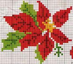 F Cross Stitch Christmas Cards, Santa Cross Stitch, Cross Stitch Tree, Mini Cross Stitch, Cross Stitch Heart, Cross Stitch Cards, Cross Stitch Borders, Cross Stitch Flowers, Christmas Cross
