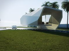 Wave House concept by Gunes Peksen All that glass is impractical anywhere tropical or susceptible to hurricanes, though. I would giddly stay there, nonetheless.