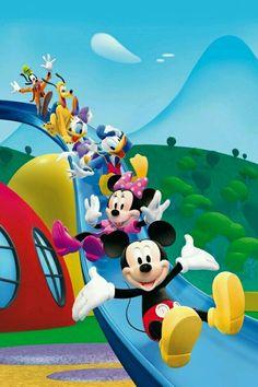 La casa de Mickey.