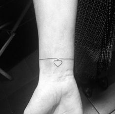 Bracelet Tattoo Design by Carin Silver