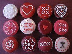 cupcakes valentine's day - Buscar con Google