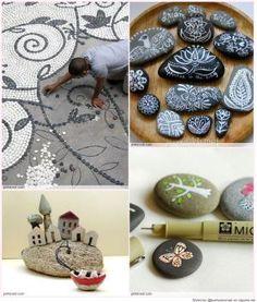 Great Idea for Stone Art by Keunsup Shin