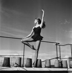 Brigitte Bardot dancing ballet, 1950s