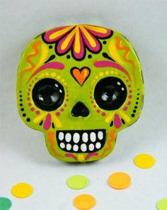 Sugar Skull Magnet b