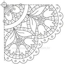 Vintage Embroidery Designs For dresser chair Cutwork Embroidery, Hand Embroidery Stitches, White Embroidery, Vintage Embroidery, Machine Embroidery Designs, Embroidery Patterns, Lace Painting, Point Lace, Cut Work