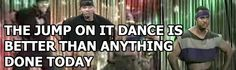 For real. I love watching the Jump dance on the fresh prince!