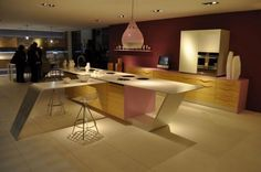 Beauty Kitchen Design with Kitchen Table...