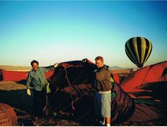 Early in the AM with George Osner Contentment, Hot Air Balloon, Wealth, Balloons, California, Water, Painting, Art, Gripe Water