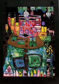 Friedensreich Hundertwasser : Antipode King