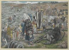 On Return from Jerusalem, It is Noticed that Jesus is Lost (Au retour de Jérusalem on s'aperçoit que Jésus est perdu) : James Tissot : Free Download & Streaming : Internet Archive