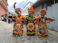 Chinelos de Atlatlahucan Morelos,Mexico