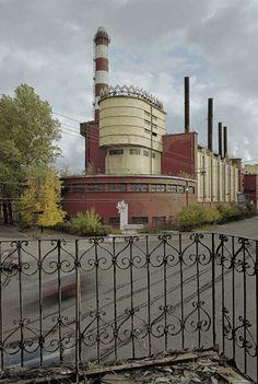 Erich Mendelsohn, Red Banner Textile Factory, 1925-37, St. Petersburg, Russia, © Richard Pare, 2007.