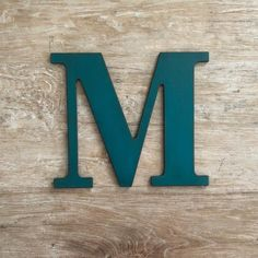 """5"""" Wooden Monogram Letter /& Ampersand Wall Sign Hanging Twine Decor Ornament NEW"""