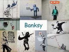 Leuke en informatieve powerpoint over Banksy voor 5, deze en nog vele andere kun je downloaden op de website van Juf Milou. Kids Art Class, Art For Kids, Drawing Lessons, Art Lessons, Banksy Graffiti, Bansky, Round Robin, Mondrian, Geometry Art