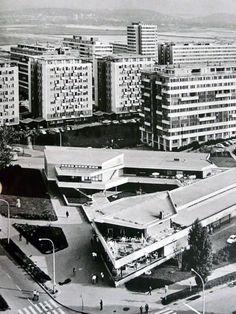 Blok 1, Novi Beograd, 1960's