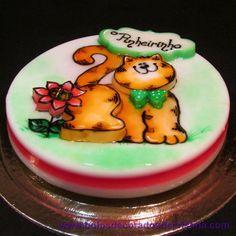 Gelatina Decorada/ Jelly/ Artistic Gelatine Jelly, Cake, Desserts, Food, Tailgate Desserts, Pie, Marmalade, Kuchen, Dessert