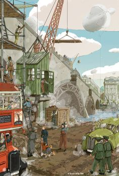 Serco Prize for Illustration 2014 - Joe Lillington Illustration
