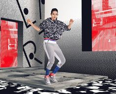 'The adidas StellaSport girl is young, current and vibrant, looking to make a statement,' ...