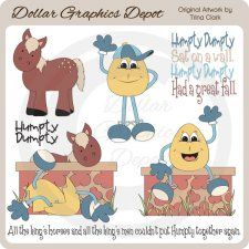 clip art nursery rhyme characters - Google Search