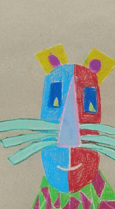 Mačka u stilu Pabla Picassa,   3.razred Art Projects, Projects To Try, Printable Coloring, Free Printables, Logos, Free Printable, Logo, Art Designs