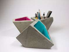"""UH """"Architecture of the object"""" class at PH Design, December 2012, concrete bowls 2"""