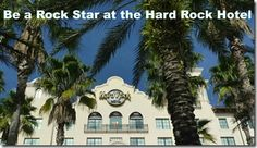 Want to be a rock star? (or just vacation like one!)  Hard Rock Hotel at Universal Studios