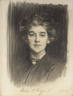 John Singer Sargent's Mrs Godfrey William Paget Mellor (Norah Alston)