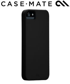 Case-Mate Barely There Apple iPhone 5 / 5S - Zwart