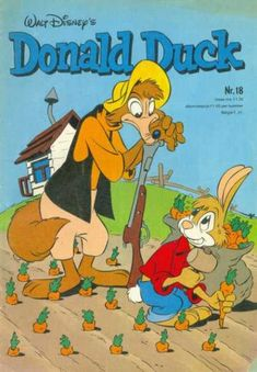 Cover for Donald Duck (Oberon, 1972 series) Donald Duck Characters, Fictional Characters, Cover, Walt Disney, Dutch, Comic Books, Cartoon, Comics, Scrooge Mcduck