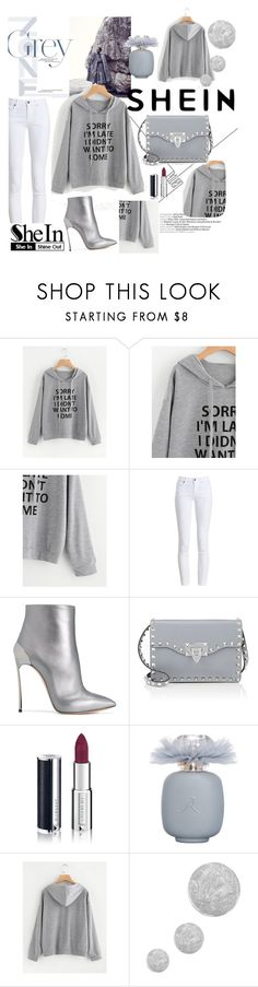 """Shein.com"" by sabinasaby ❤ liked on Polyvore featuring Barbour, Casadei, Valentino, Givenchy and Topshop"