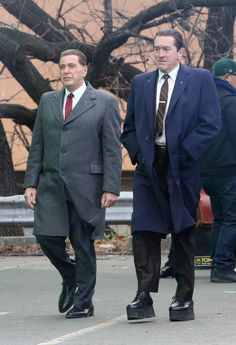 Robert De Niro had to resort to a little movie magic on set in New York City on Wednesday.