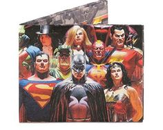 Men's Mighty Wallet Justice League - For Sale Check more at http://shipperscentral.com/wp/product/mens-mighty-wallet-justice-league-for-sale/
