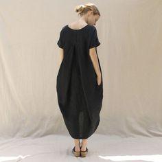 платье кокон