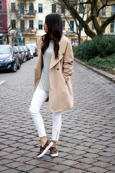 camel trench coat- Classic trench coat for all seasons http://www.justtrendygirls.com/classic-trench-coat-in-all-seasons/