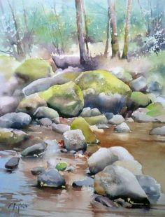 Papeix-aquarelle-pradeyrolles #watercolorarts