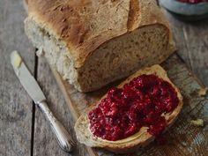 mindre Meatloaf, Bread Recipes, Banana Bread, Baking, Desserts, Food, Tailgate Desserts, Deserts, Bakken