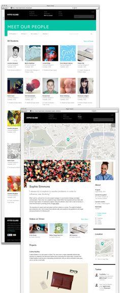 Hyper island Music Websites, Working Area, Island, Digital, Projects, Log Projects, Blue Prints, Islands
