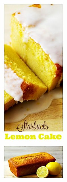 Starbucks Lemon Cake- Bright and zesty and the icing (our favorite part) ties everything together and has us licking our lips and reaching for another slice. You've gotta try this! http://12tomatoes.com/copycat-lemon-loaf/?utm_source=kp&utm_medium=paid-affiliate&utm_content=link&utm_campaign=copycatlemonloaf