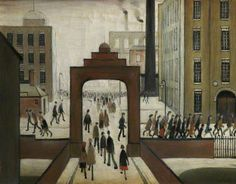 Early Morning by Laurence Stephen Lowry