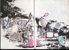 Sketching in Graffiti Style