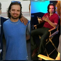 """Gefällt 102 Mal, 3 Kommentare - daily dose of Seb (@sebastianstan_igfanpage) auf Instagram: """"I'm Dying Up Here is premiering tonight and we're getting hit with these Seb set pics. So thank you…"""""""