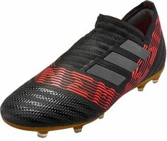 hot sale online f57de 25d8b adidas Kids Nemeziz 17 FG – BlackSolar Red