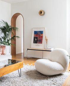 Funky Living Rooms, Eclectic Living Room, Home And Living, Living Room Decor, Modern Living, Decoration Design, Deco Design, Decor Interior Design, Interior Decorating
