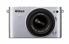 Nikon 1 J3 14.2 MP HD Digital Camera with 10-30mm VR 1 NIKKOR Lens (Silver), Best Gadgets