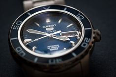 Seiko 5 Sports Automatic Photo by Daniel Zimmermann https://www.flickr.com/photos/callmewhatever/19305053896/in/dateposted/ #time #seiko #watch #photo