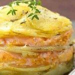 Salmone e patate al forno, una ricetta che nonostante la sua semplicità vi farà…