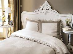 Tete de lit bois blanc