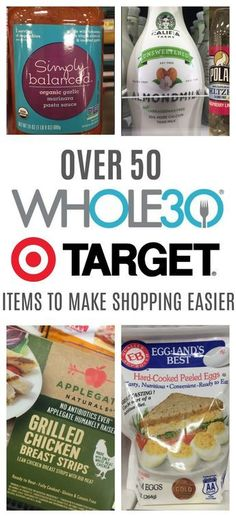 Grocery List: Compliant Items To Get At Target just got easier with these Target options! From meat, healthy fats, compliant milk and emergency foods, grocery shopping for will be quick and easy in one just got easier with these Target options! Whole 30 Snacks, Whole 30 Diet, Paleo Whole 30, Whole 30 Recipes, Whole Foods, Whole 30 Meals, Whole 30 Drinks, Whole 30 Vegetarian, Whole Food Diet
