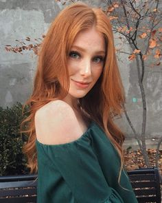 Rascal pick - Madeline A Ford - Strawberry Blonde - Long Hair - Beauty Short Red Hair, Fall Hair Trends, Red Hair Woman, Beautiful Red Hair, Hello Beautiful, Beautiful Women, Girls With Red Hair, Ginger Girls, Gorgeous Redhead